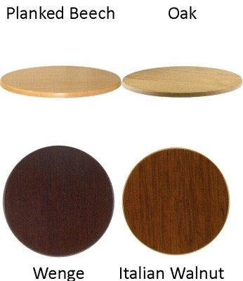 Table tops - next day - round, square, oblong, rectangular - various colours and sizes