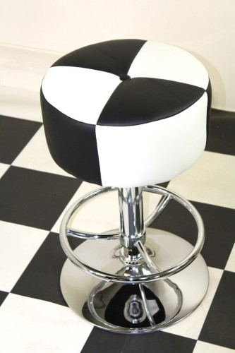 Chrome Kitchen Breakfast Bar Stools